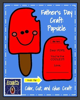 Father's Day Craft: Popsicle (Dad, Grandpa)