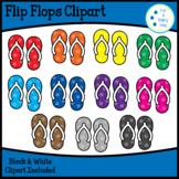 Flip Flops (Color Matching) Clipart