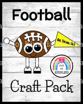 Football Craft (Fall, Autumn, Sports, Homecoming)