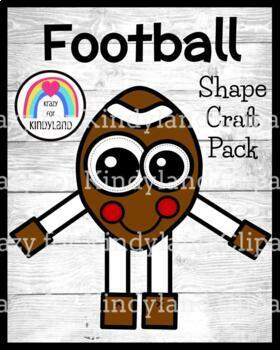 Football Shape Craft (Super Bowl, Homecoming)