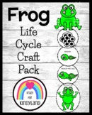 Frog Life Cycle Craft for Kindergarten (Spring, Summer)