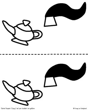 Genie Craft: Brown Paper Bag Puppet (Fairy Tales)