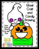 Flash Freebie! Ghost Craft and Candy Drawing (Halloween, C