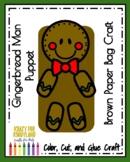 Gingerbread Man Book Companion Craft: Puppet (Christmas)
