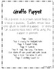 Giraffe Craft: Puppet (Zoo, Summer, Animal Research)