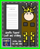 Giraffe Craft for Kindergarten: Puppet (Zoo, Summer, Animal Research)