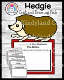 Hedgie Craft and Drawing for Kindergarten (Jan Brett Books, Winter, Mitten, Hat)
