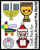 Holidays Around the World Craft Pack (Christmas)