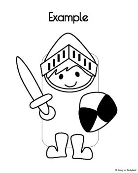Knight Craft: Brown Paper Bag Puppet (Fairy Tales)