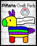 Las Posadas Craft for Kindergarten: Piñata Color Words Craft