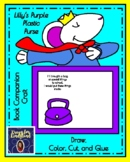 Lilly's Purple Plastic Purse Book Craft for Kinder (Back to School, First Day)