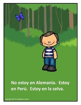 Spanish Conservation Story - Luca y el mono