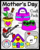 Mother's Day Craft and Poem Pack (Guitar, Rose, Moon, Purse, Home)