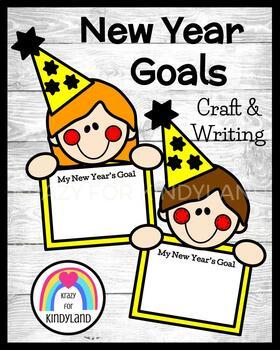 New Year Craft: Goal Kids (Winter, January)