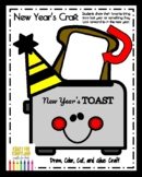 New Year Craft for Kindergarten: Toast (Winter, January)
