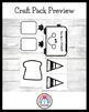 New Year Craft for Kindergarten: Toast (Winter, January)