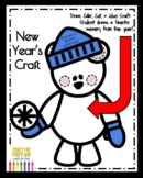 New Year Craft: Polar Bear - I had a BEARY good year! (Winter, January)