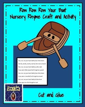 Nursery Rhyme Craft & Activity Pack: Row Your Boat, Humpty, Jack & Jill, Twinkle