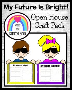 Open House Craft: My Future Is So Bright! (Back to School, Parent Night)