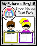 Back to School, Open House Craft, Writing Prompt: My Future Is So Bright!