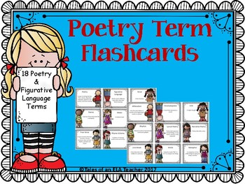 Poetry Terms Flashcards