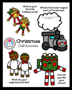 Polar Express Craft Pack (Mug, Gingerbread Pajamas, Train, Jingle Bells)