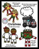 Polar Express Craft Bundle (Mug, Gingerbread Pajamas, Train, Jingle Bells)