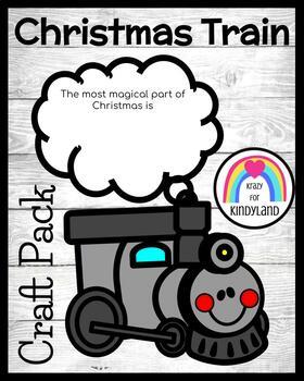Polar Express Train Craft and Drawing (Christmas, Holidays)