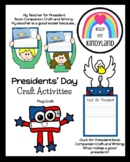 Presidents' Day Craft Pack (Election, America, USA)