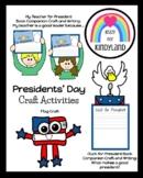 Presidents' Day Craft Bundle for Kindergarten (Election, America, USA)