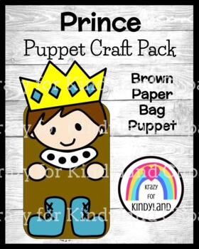 Prince Craft: Brown Paper Bag Puppet (Fairy Tales)