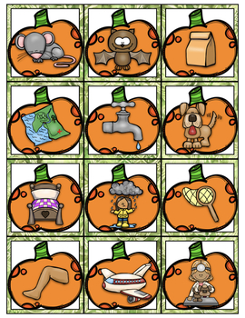 Pumpkin Patch Short Vowel Center