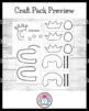 Q and U Wedding Craft: Crowns (Hats)