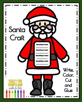 Santa Craft and Christmas List (Gifts, Presents, Holidays)