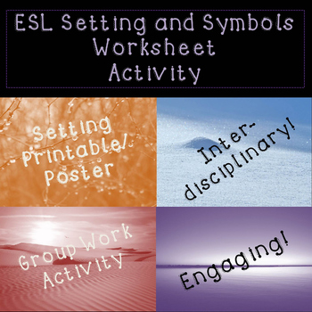 Flash Freebie! Setting Activity For ESL Students