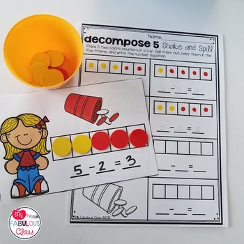 Shake and Spill Compose and Decompose 5 and 10