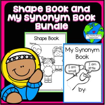 Flash Freebie! Shape Book and Synonym Book