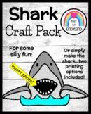 Shark Craft Activity for Ocean, Beach, Summer Science Center