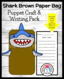Shark Craft for Kindergarten: Puppet (Ocean, Animal Research, Summer School)