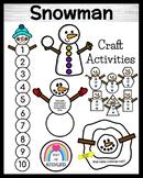 Snowman Craft Pack (Winter, January)