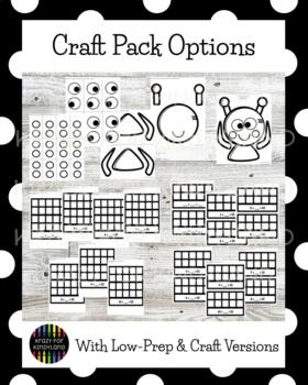 Space Craft Pack (Rocket, Alien, Moon and Sun, Astronaut)