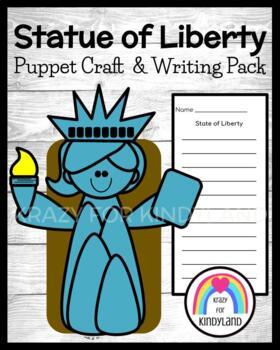 Statue of Liberty Craft: Puppet (America, US Symbols, USA)