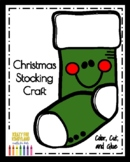 Stocking Craft (Christmas, Gift, Present, Holidays)