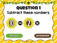 Subtracting to 10 Spring Powerpoint Game