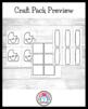Summer Craft Pack: Popsicle, Pineapples, Dinosaur, Ice Cream