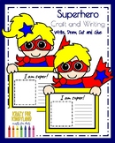 Superhero Craft for Kindergarten (100th Day, Halloween, Back to School)