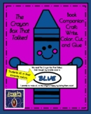 The Crayon Box That Talked Book Craft for Kinder (Back to School, First Day)