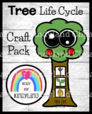 Tree Life Cycle Craft Activity for Summer, Fall, Spring Science Center