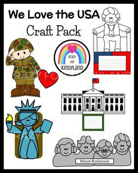 USA Craft Pack (US Symbols, Veterans, Presidents, Vote, Election)