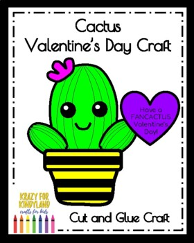 Valentine's Day Cactus Craft